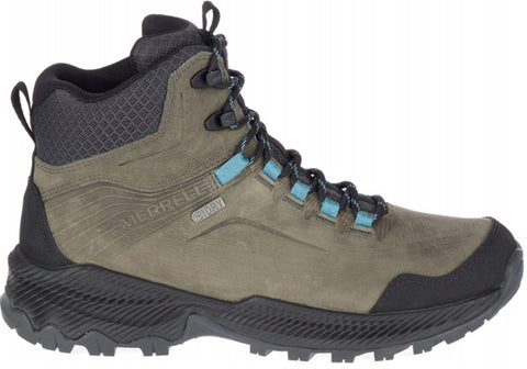 Merrell Forestbound Mid Leather Waterproof Comfort Womens Hiking Shoes