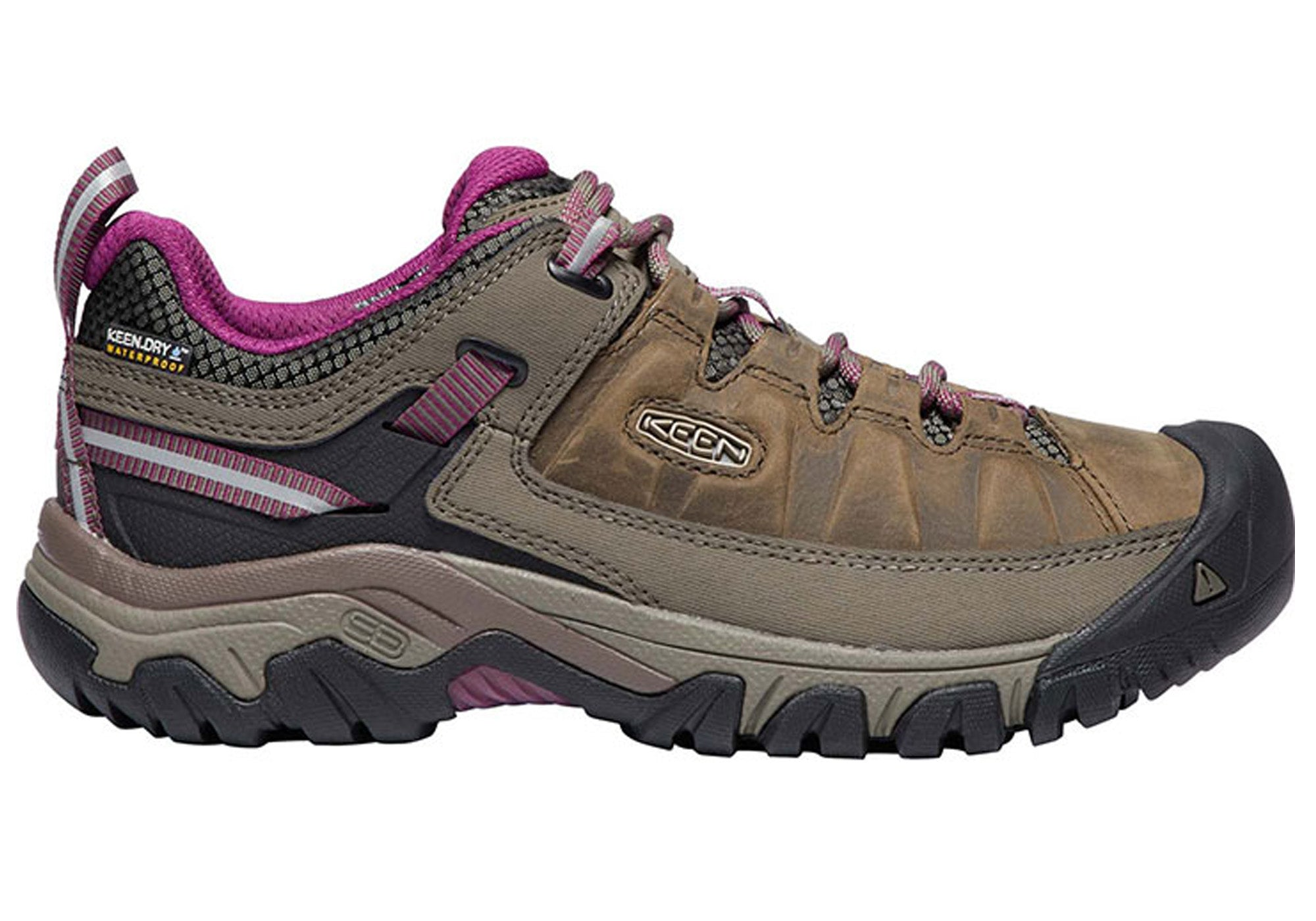 24588c56d54 Details about Brand New Keen Womens Targhee Iii Comfortable Waterproof  Hiking Boots