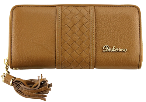Dekerce Boho Womens Leather Wallet