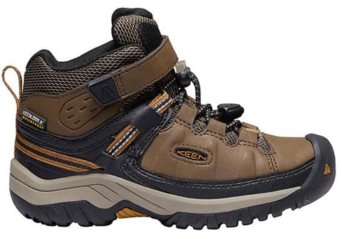 Keen Targhee Mid WP Kids Comfortable Durable Boots Shoes