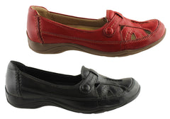 Planet Zinc Womens Leather Casual Comfort Shoes