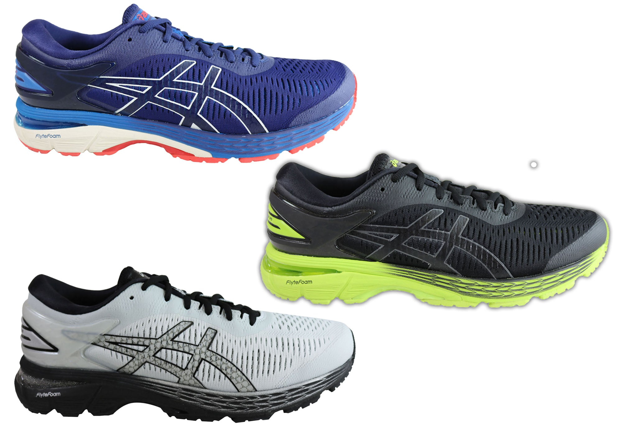 Details about Brand New Asics Gel Kayano 25 Mens Premium Cushioned Running Sport Shoes