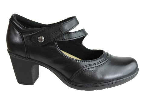 Planet Shoes Base Womens Comfort Leather Mid Heel Shoes