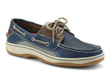 Sperry Mens Billfish Wide Fit Leather Boat Shoes