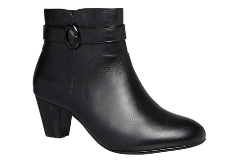 Hush Puppies Brady Womens Leather Ankle Boots