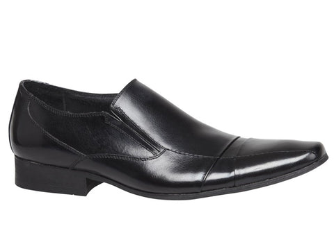 Julius Marlow Bullet Mens Leather Dress Slip on Shoes