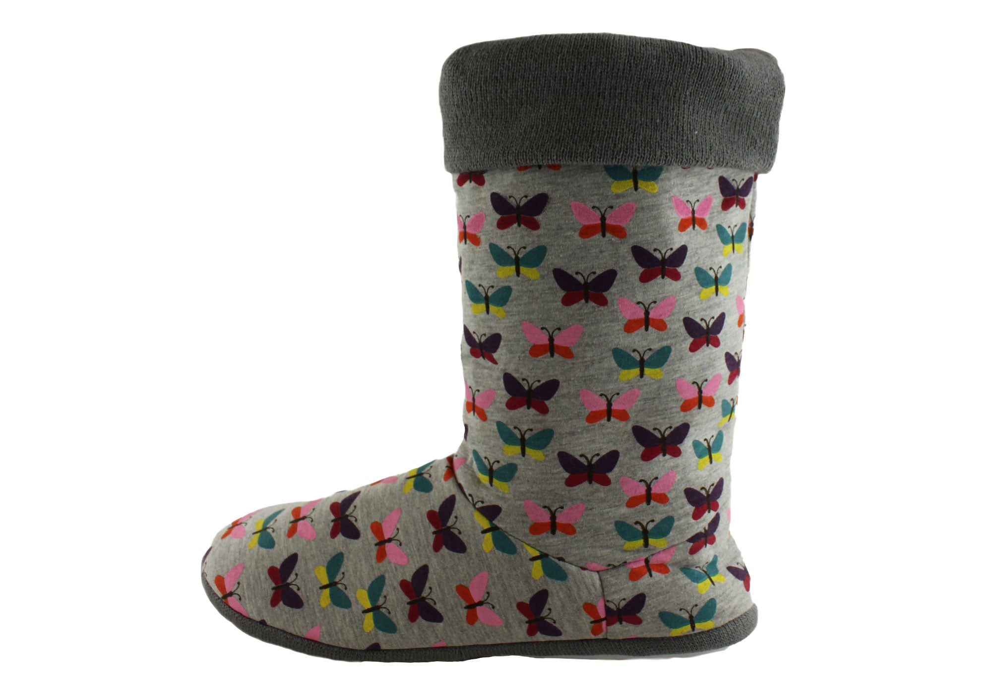 Grosby Butterfly Hoodie Womens Boots/Slippers