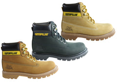 Caterpillar Colorado Mens Comfortable Leather Lace Up Boots