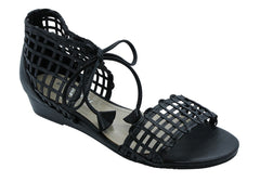 Magnini Clarity Womens Small Wedge Leather Sandals