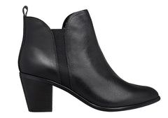 Hush Puppies Calista Womens Leather Ankle Boots