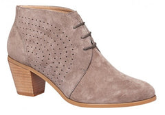 Hush Puppies Carine Womens Suede Ankle Boots