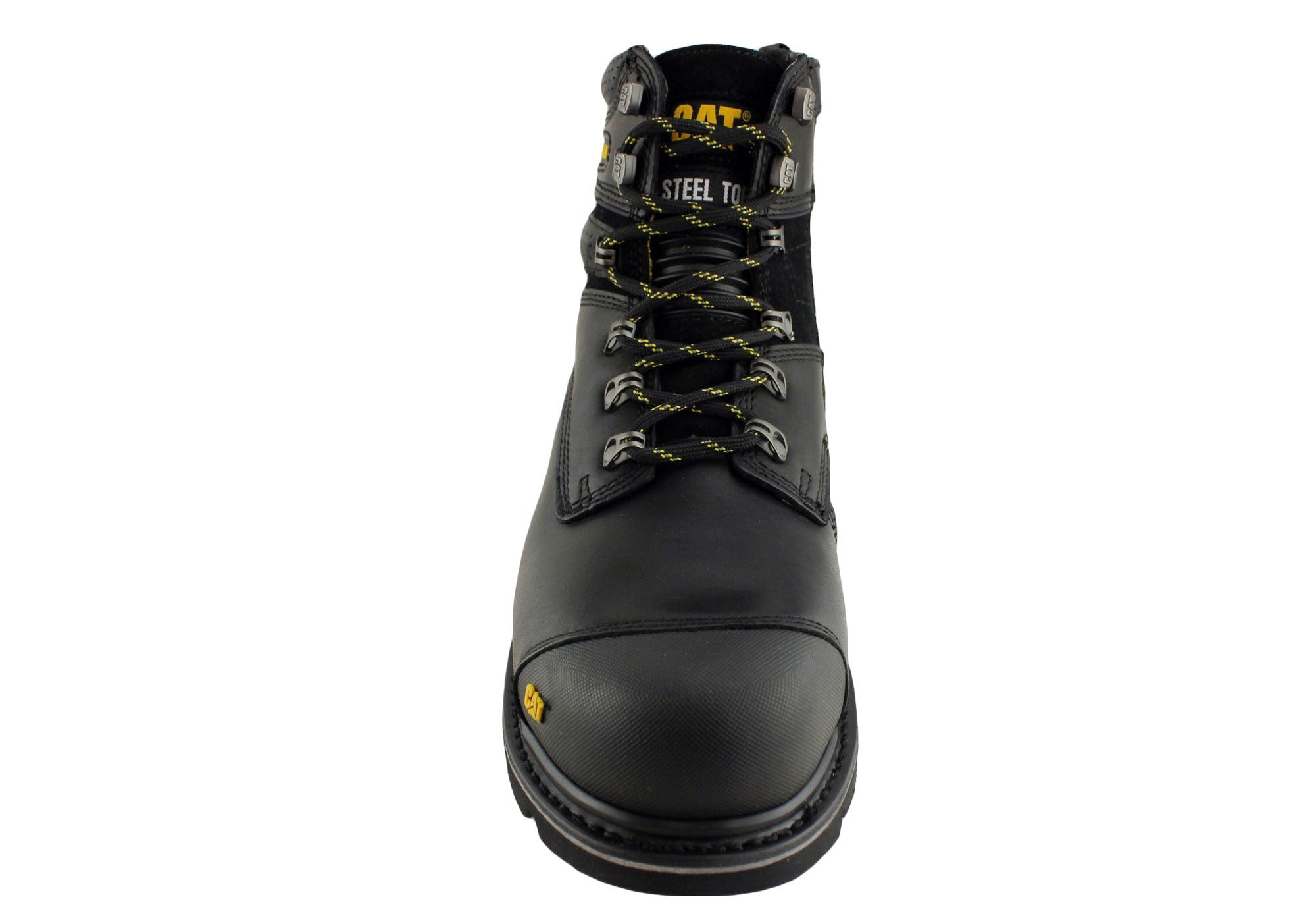 "Caterpillar Brakeman 6"" Mens Side Zip Steel Toe Work Boot Sale"