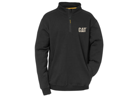 Caterpillar Mens Canyon 1/4 Zip Hoodie