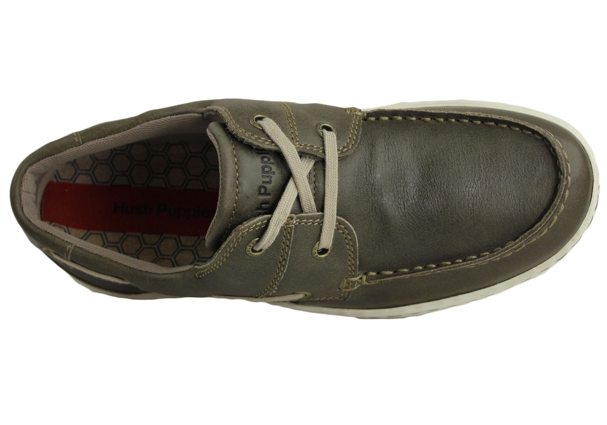 Hush Puppies Caught Mens Casual/Boat Shoes
