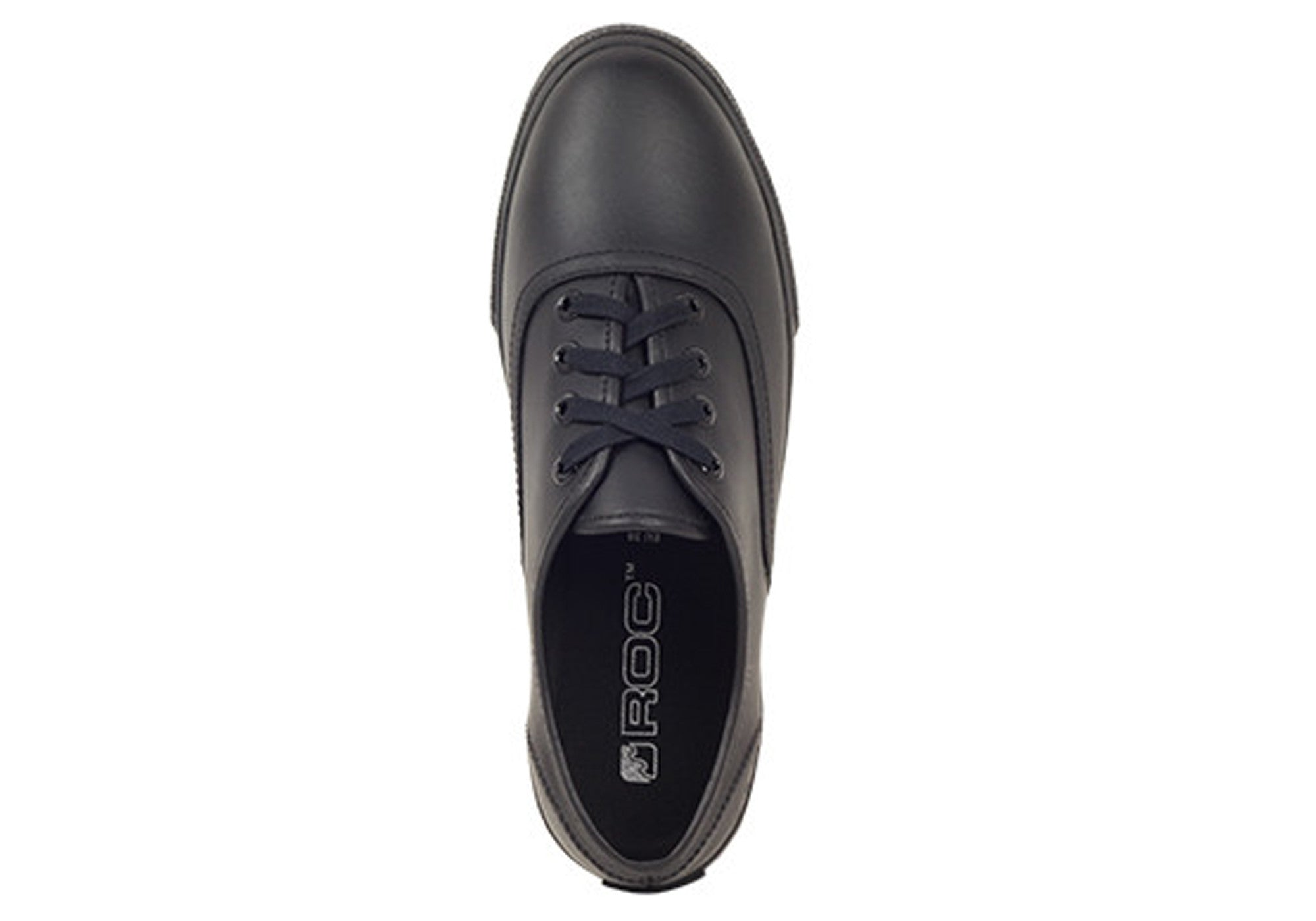 Roc Demi Senior Leather School Shoes Fashion Lace Up Sneakers