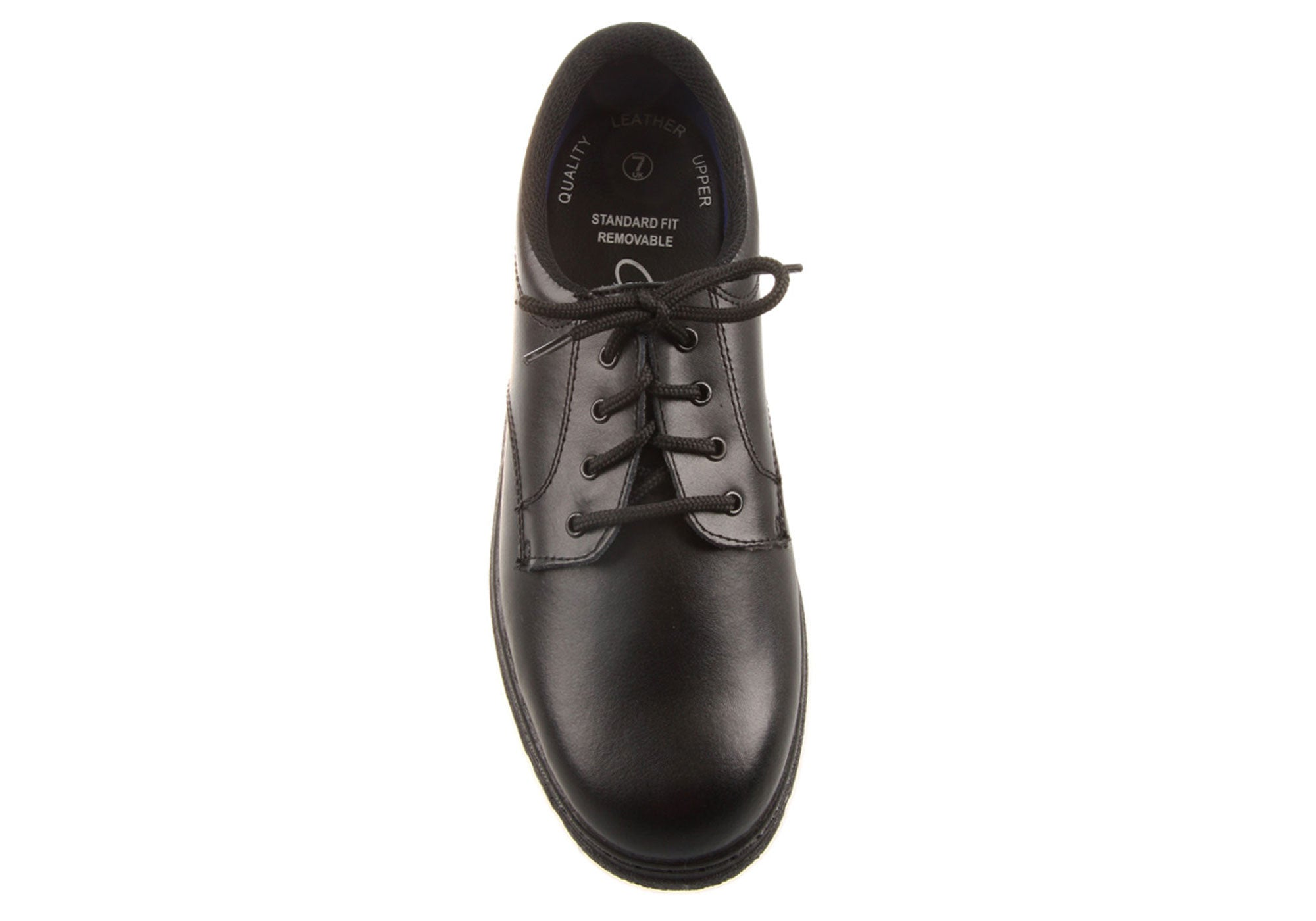 eee0b033d Home Grosby English Kids Youths Leather School Shoes. Black  Black  Black   Black ...