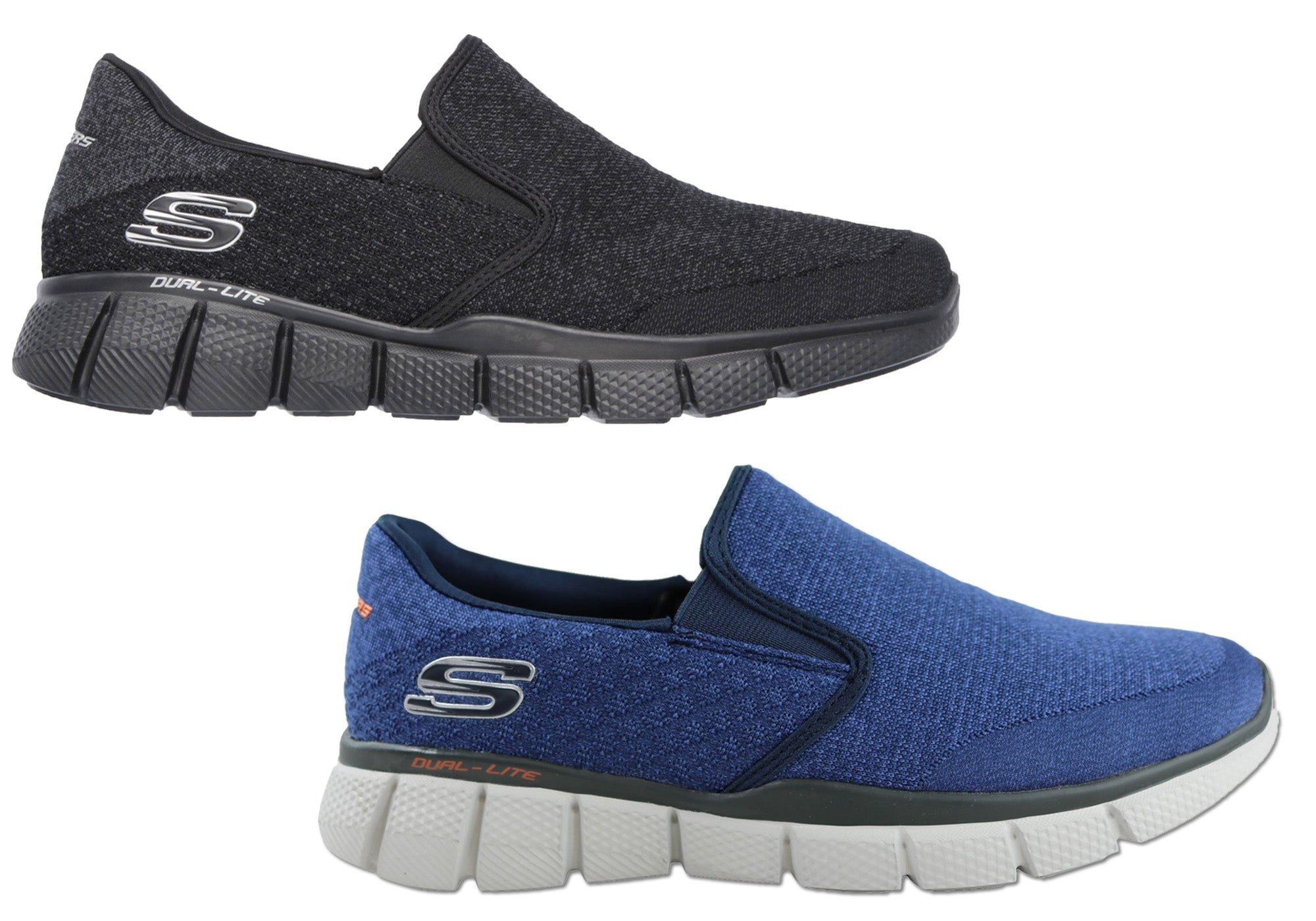 1b041dff31f NEW SKECHERS EQUALIZER 2.0 MENS MEMORY FOAM SLIP ON SHOES
