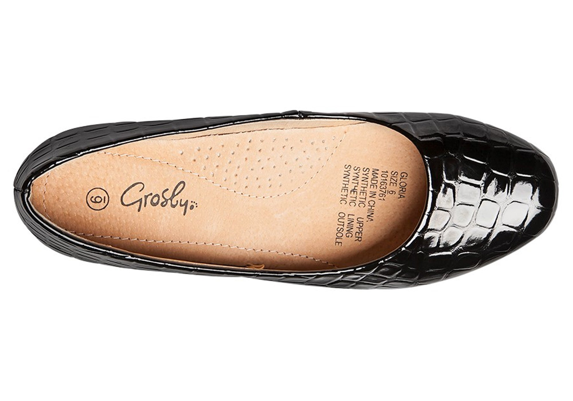 Grosby Gloria Womens Low Wedge Shoes