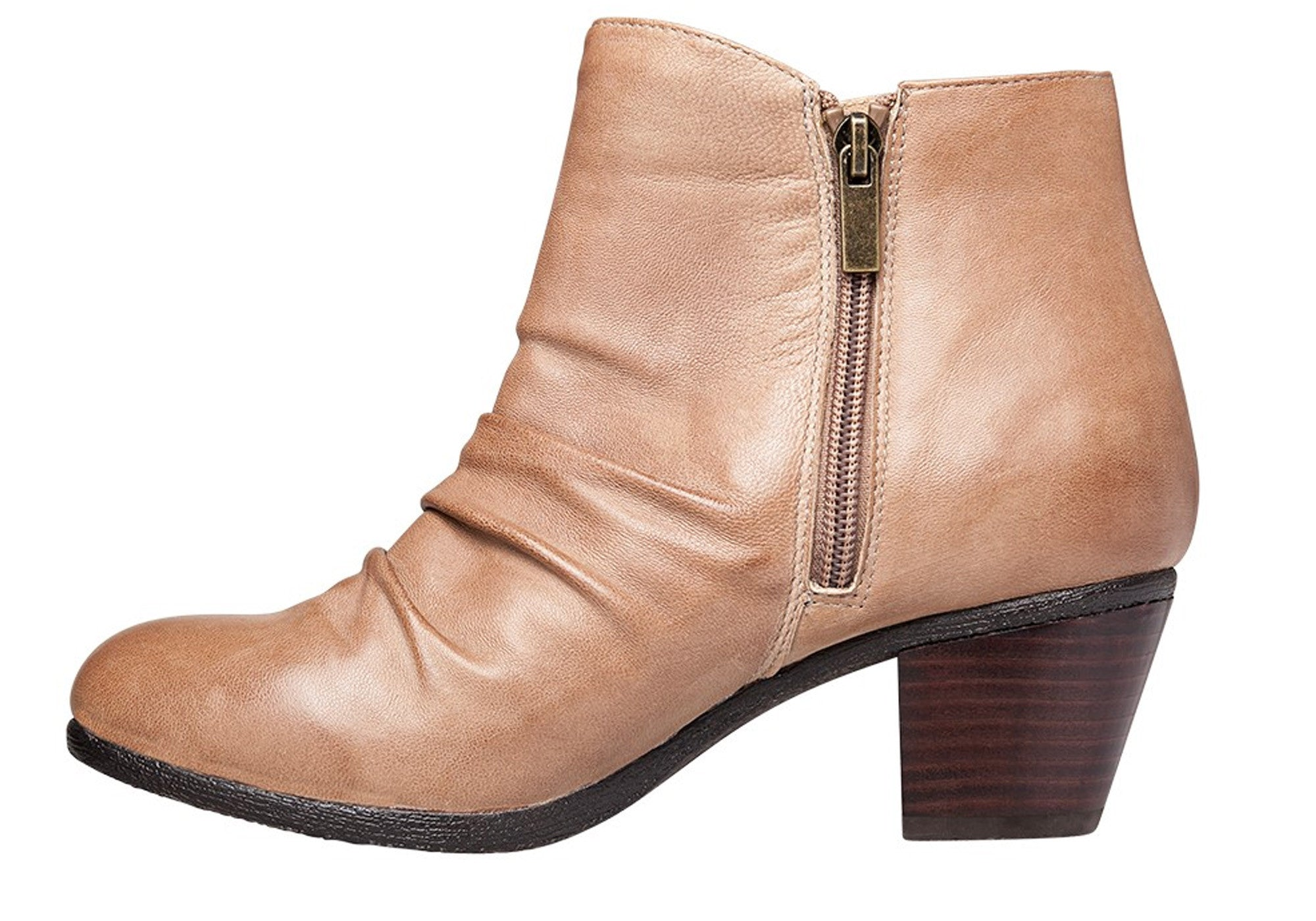 Hush Puppies Galla Womens Leather Ankle Boots