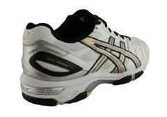 Asics Gel Game 3 Older Boys Cushioned Cross Trainer Tennis Sport Shoes