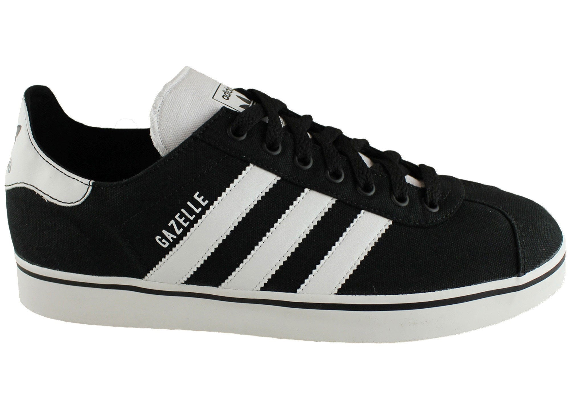 online store 08ae7 9cd46 Home Adidas Gazelle RST Mens Casual Fashion Shoes. Black ...