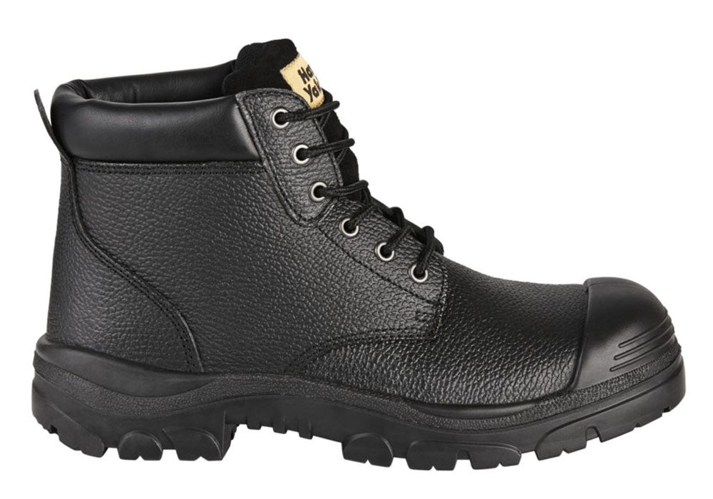 Volley Safety Steel Toe Lace Up Shoes Mens WorkWearZone