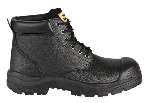 Hard Yakka Gravel Emboss Mens Lace Up Steel Toe Boots