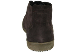 Grizzly Xander Mens Leather Suede Lace Up Boots
