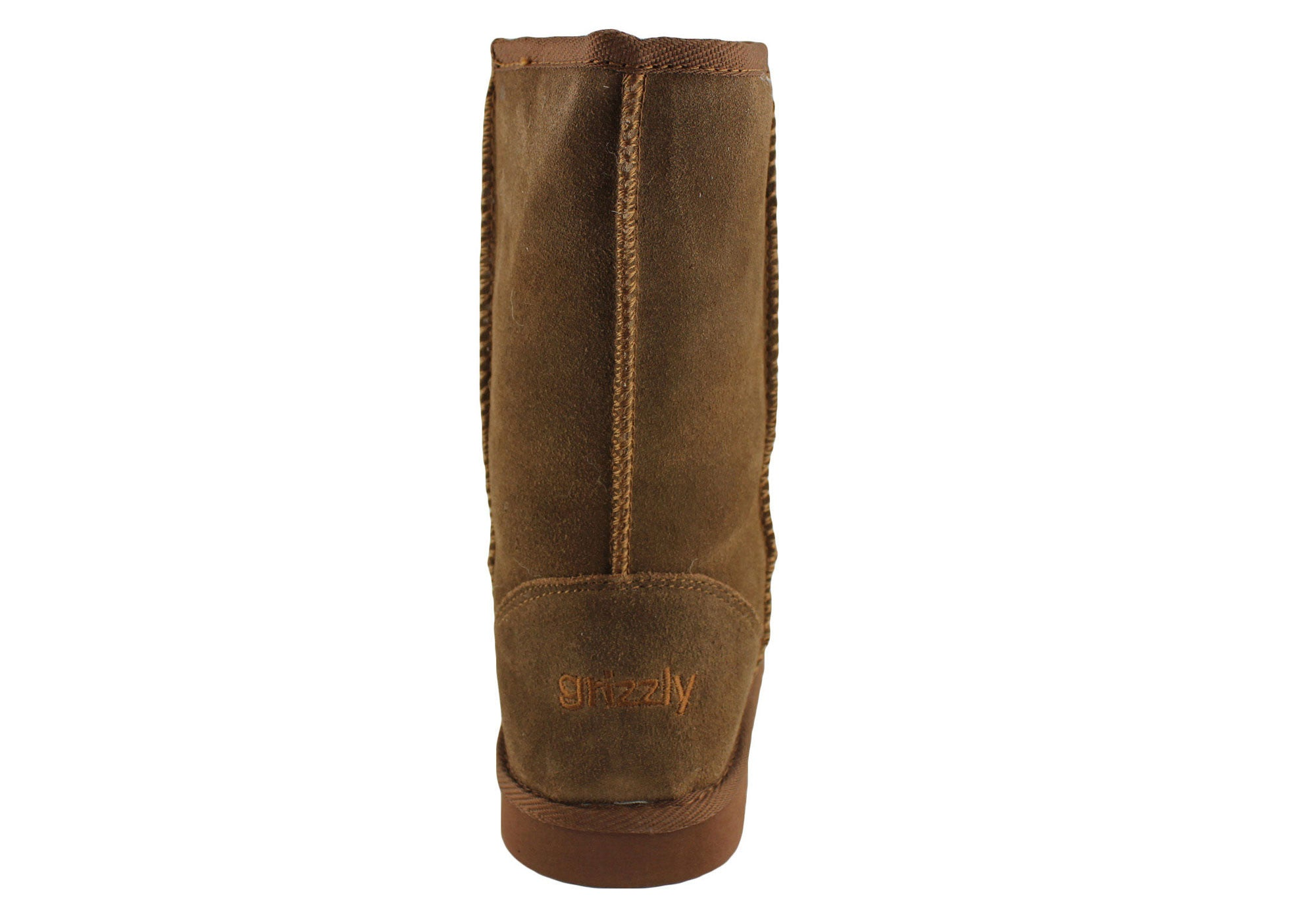 Grizzly Blizzard Womens Suede Ankle Ugg Boots
