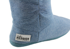 Grosby Denim Hoodie Womens Slippers