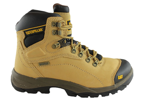 Caterpillar Cat Diagnostic Mens Steel Toe Work Boots