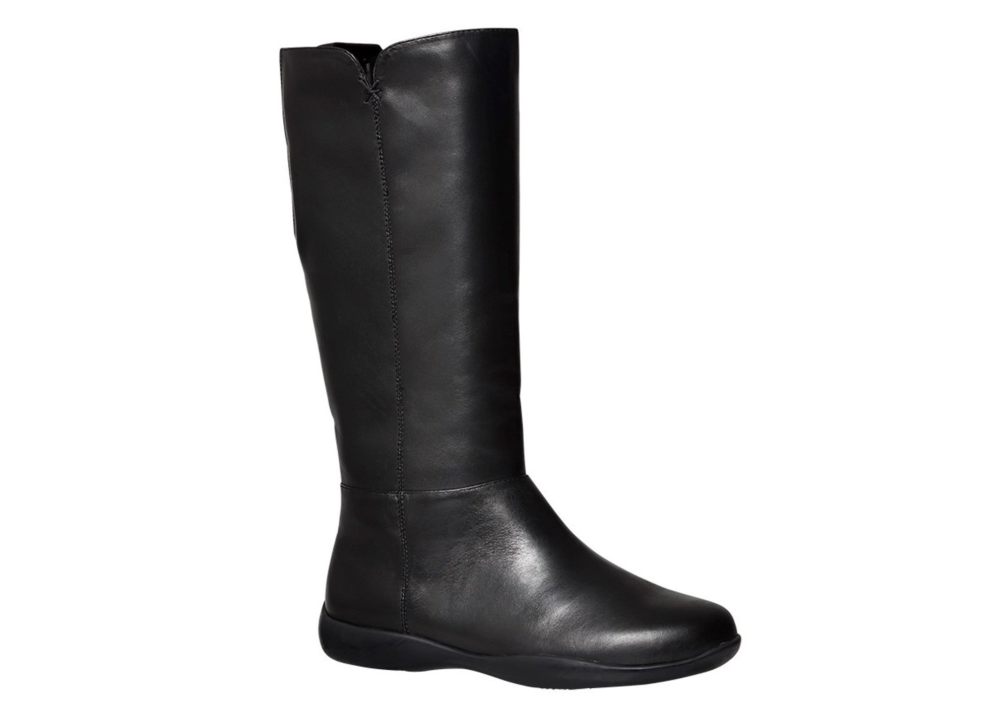 154533030cef ... Womens Leather Comfort Boots. Black · Black · Black