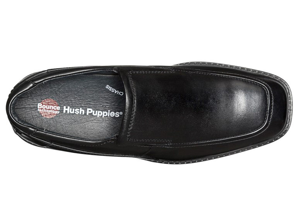 Hush Puppies Hay Mens Wide Fit Leather Shoes