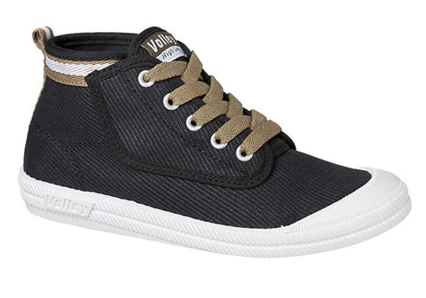Volley Hi Leap Canvas Youth Shoes