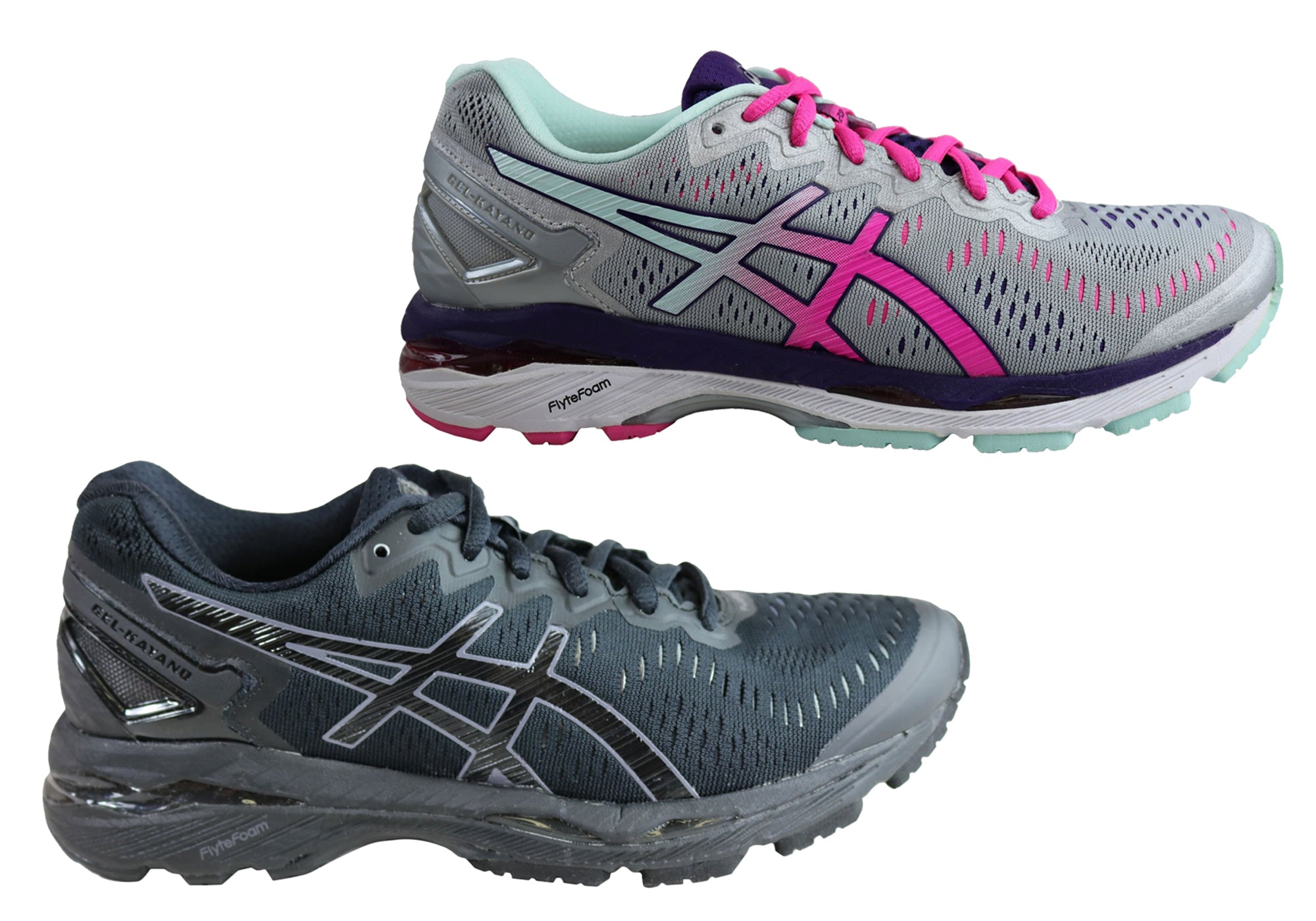 best cheap e553e 3e25a Asics Gel Kayano 23 Womens Premium Cushioned Running Sport Shoes