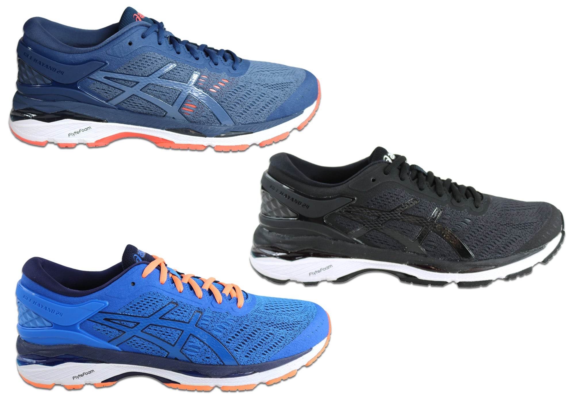 release date: e680f 0c40a Details about Brand New Asics Gel Kayano 24 Mens Comfortable Cushioned  Running Sport Shoes