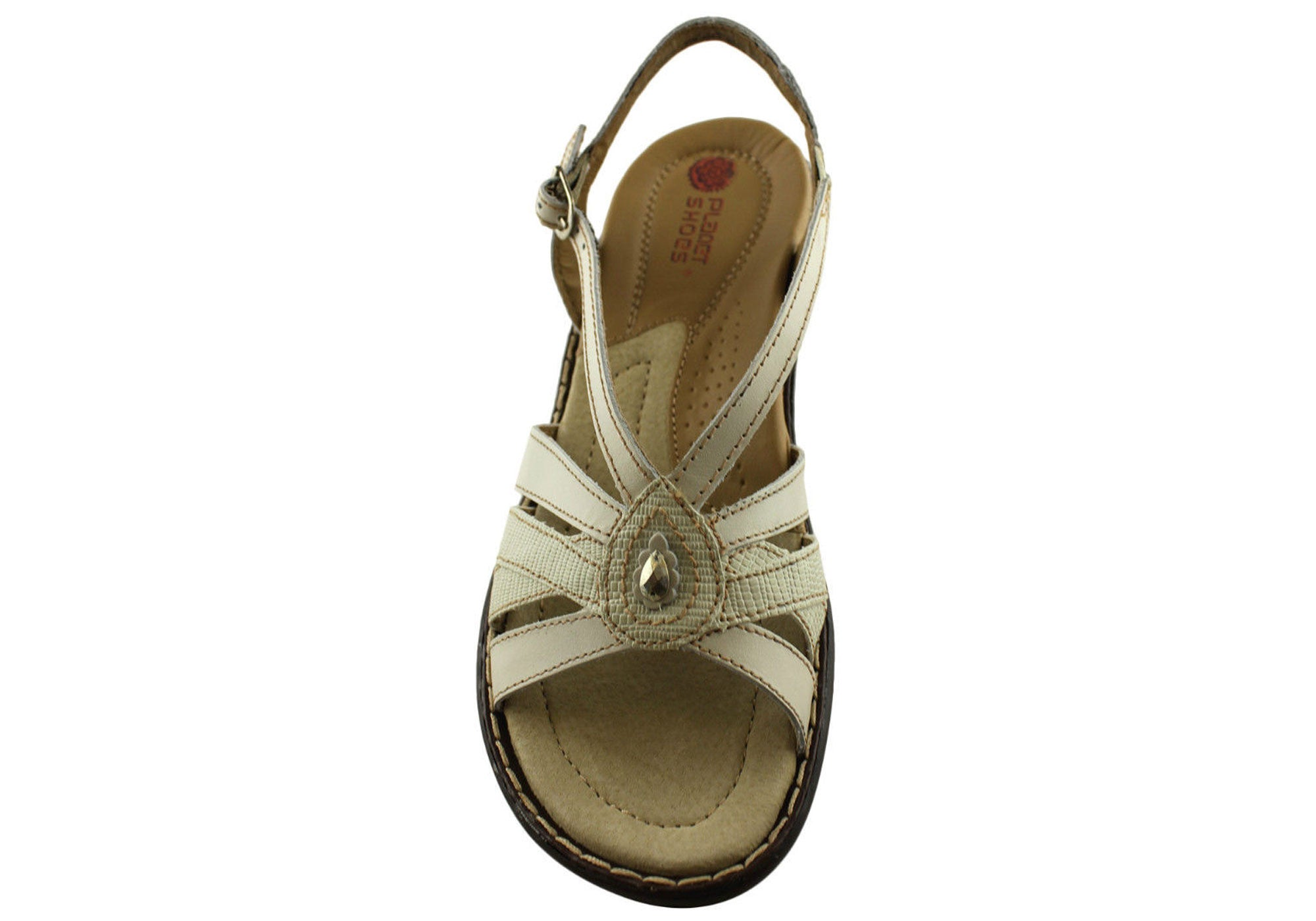 Planet Shoes Lyla Womens Comfort Leather Sandals