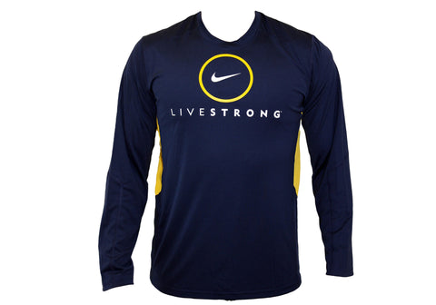 Nike Mens Livestrong Dri-Fit Long & Short Sleeve Training T-Shirt