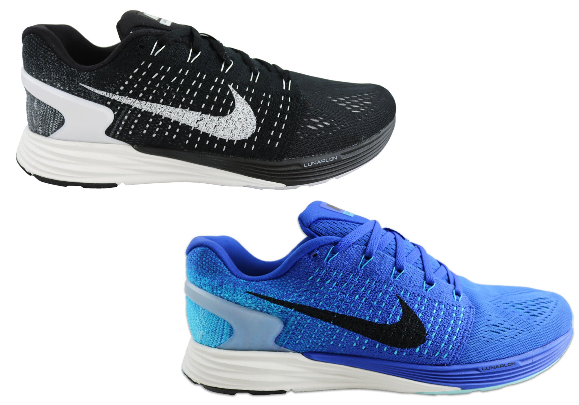new products 9c919 d212d New Mens Nike Lunarglide 7 Cushioned Light Weight Running Sport ...