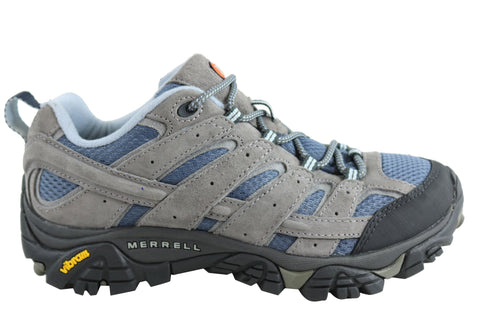 Merrell Womens Moab 2 Vent Wide Width Comfortable Hiking Shoes