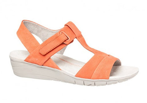 Hush Puppies Margo Irvine Leather Wedge Sandals