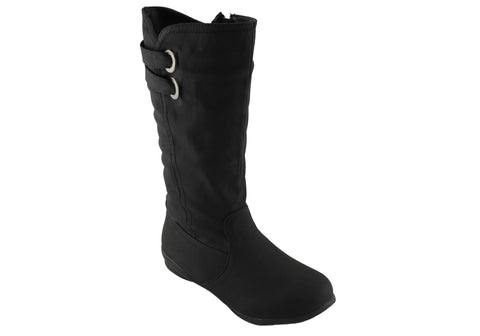 Jasmin Madison Womens Mid Calf Boots