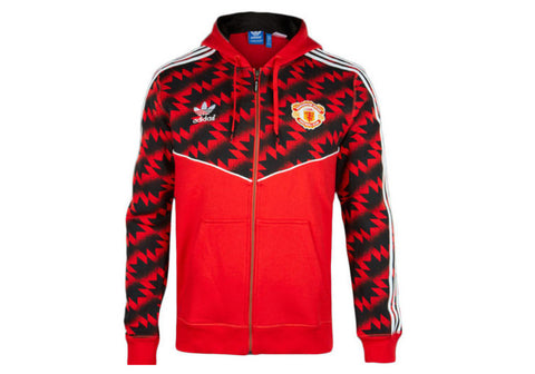 Adidas Originals Mens Manchester United Zip Jacket