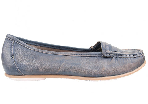 Hush Puppies Mirna Cash Womens Leather Loafers