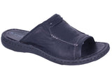 Slatters Nowra Mens Comfortable Leather Sandals