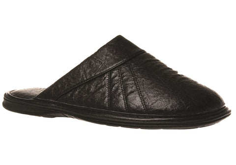 Grosby Nathan Mens Open Back Indoor Slippers