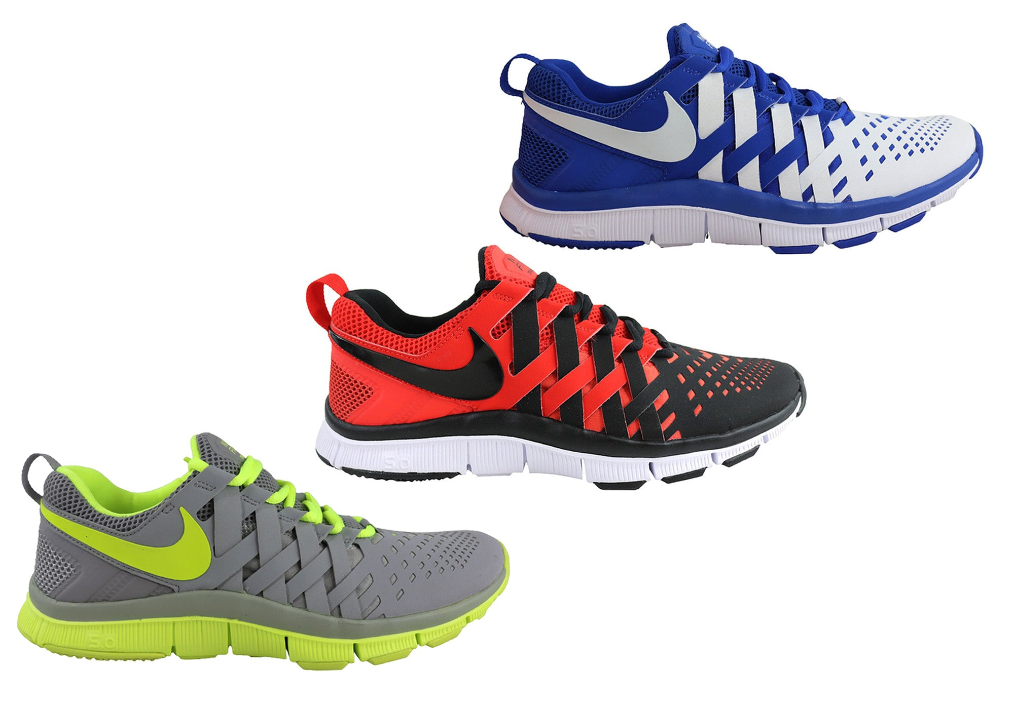 best loved f1ecc 54edf Nike Free Trainer 5.0 Mens Running Sport Shoes