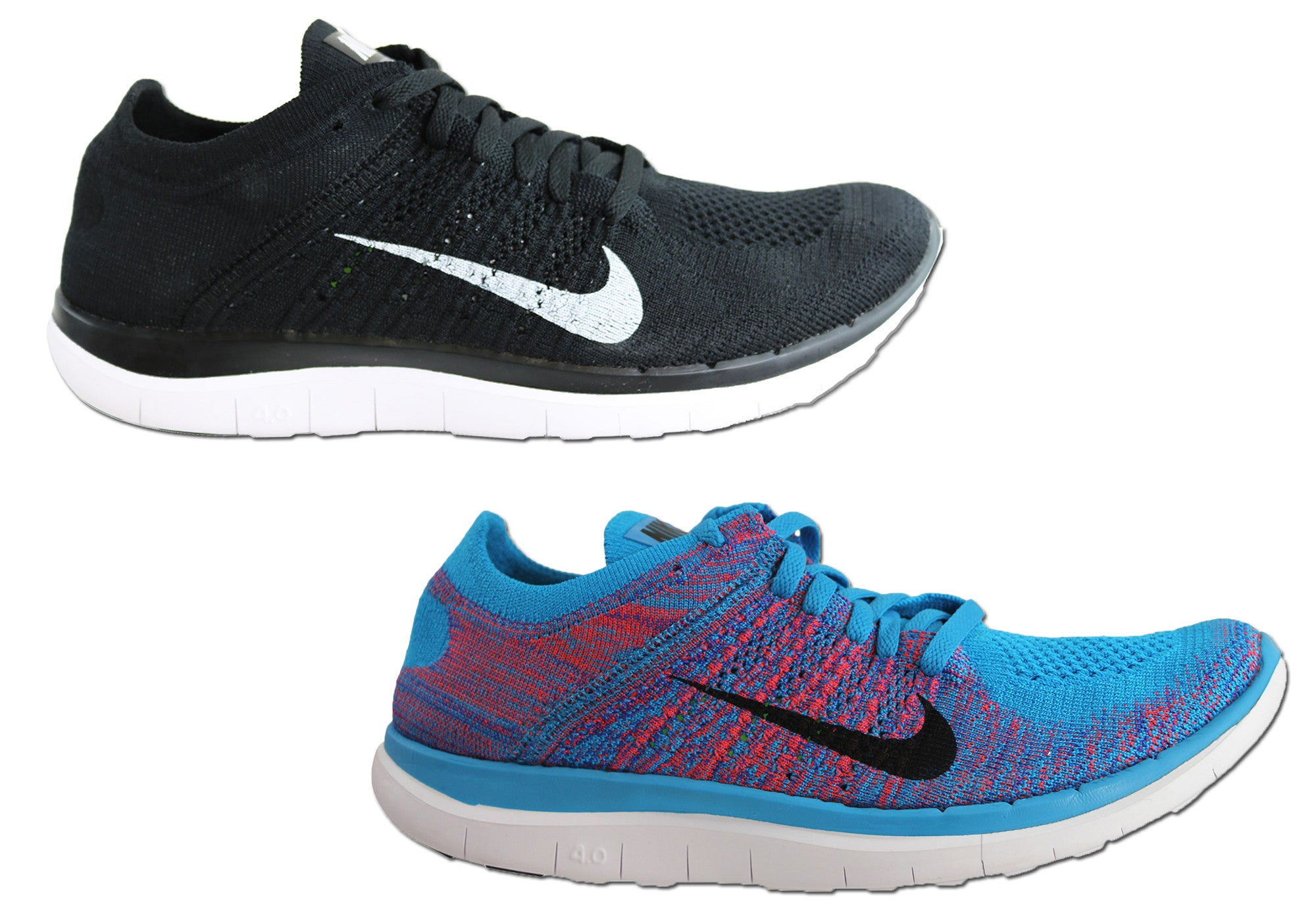 wholesale dealer dc0a2 1c7f7 ... NEW NIKE FREE FLYKNIT 4.0 MENS BAREFOOT FEEL RUNNING SHOES ...