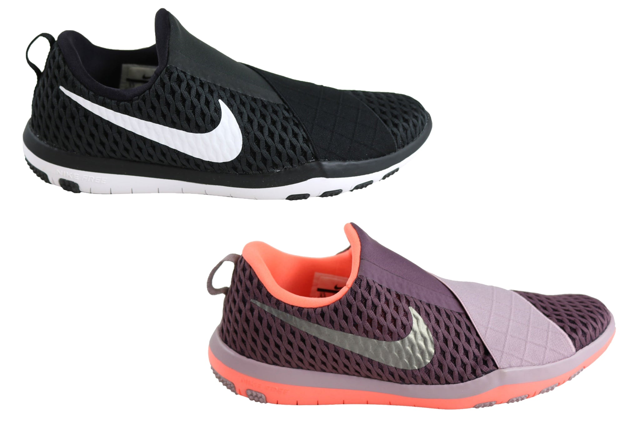 9107ba9d1e936c New Womens Nike Free Connect Comfortable Slip On Shoes