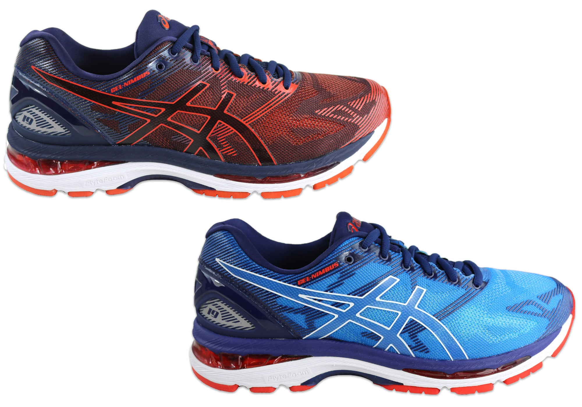 2bdbcc0984f8 Details about NEW ASICS GEL-NIMBUS 19 MENS PREMIUM CUSHIONED RUNNING SPORT  SHOES